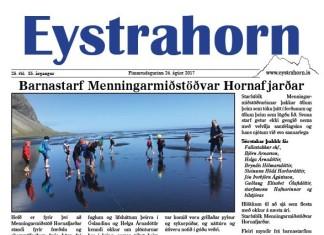 25.tbl 2017 Eystrahorn