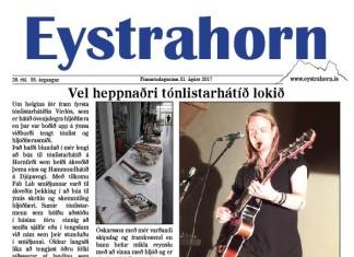 26. tbl Eystrahorn